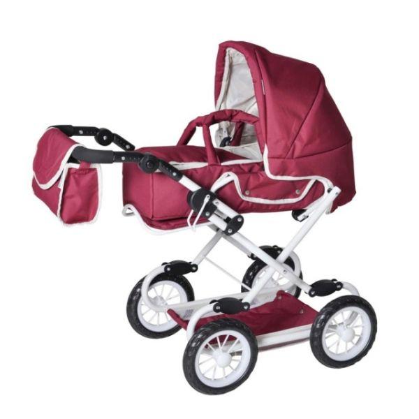 Kombi-Puppenwagen Coco Babypuppen & Zubehör jeans grey