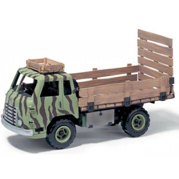 Lastwagen mit Fahrer