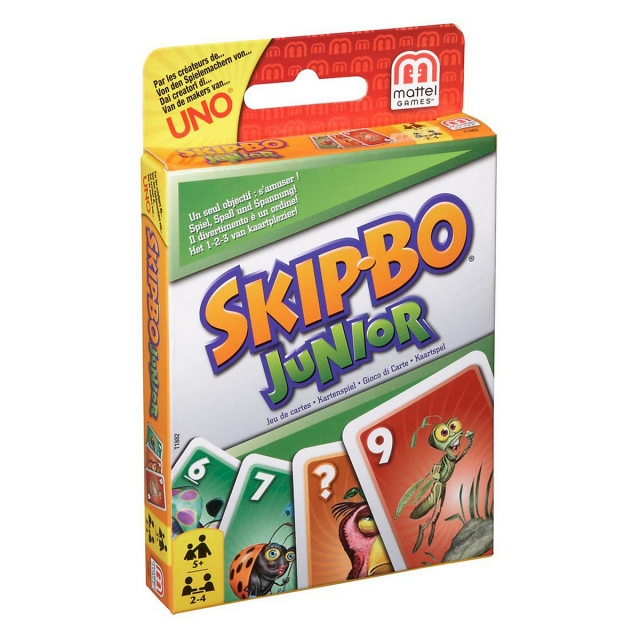 Skip Bo Junior Spielregel