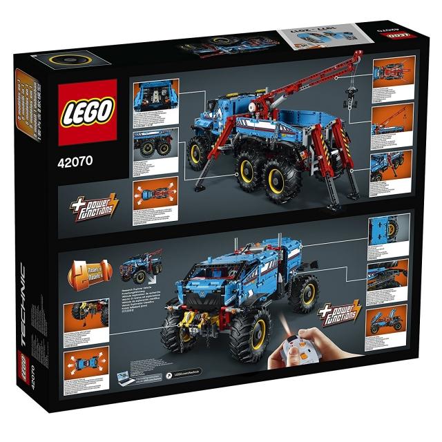 LEGO Technic Allrad - Abschleppwagen 42070   LEGO Technic ...