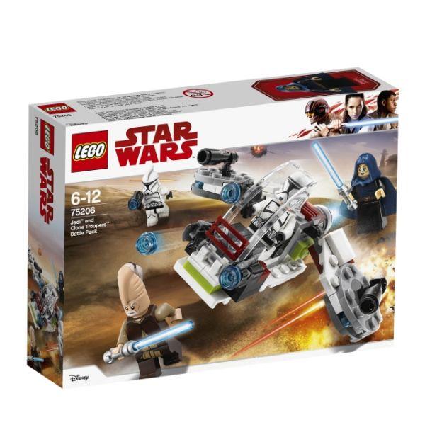 LEGO® Star Wars™ Jedi und Clone Trooper 75206