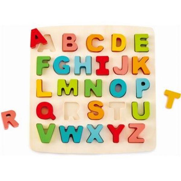 HAPE Puzzle mit Grossbuchstaben