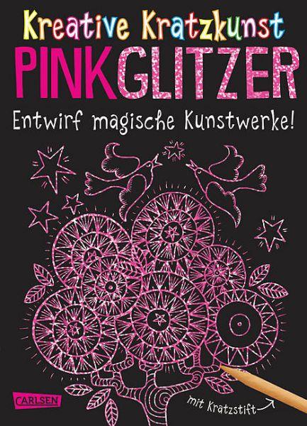 Kreative Kratzkunst: Pinkglitzer