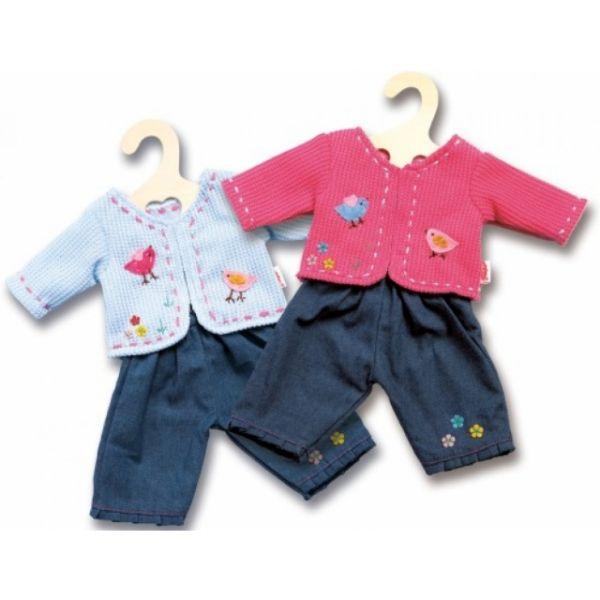 Puppenjacke mit Jeans 28 - 35 cm