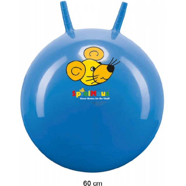 spielmaus sprungball super 60cm spielmaus sprungball super 60cm h pfball outdoor spielzeug. Black Bedroom Furniture Sets. Home Design Ideas