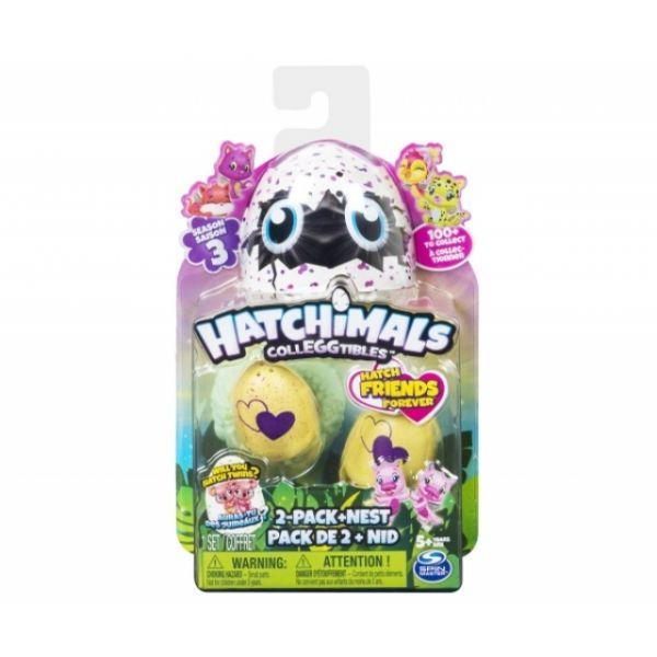 Hatchimal Colleggtibles III 2er Pack + Nest