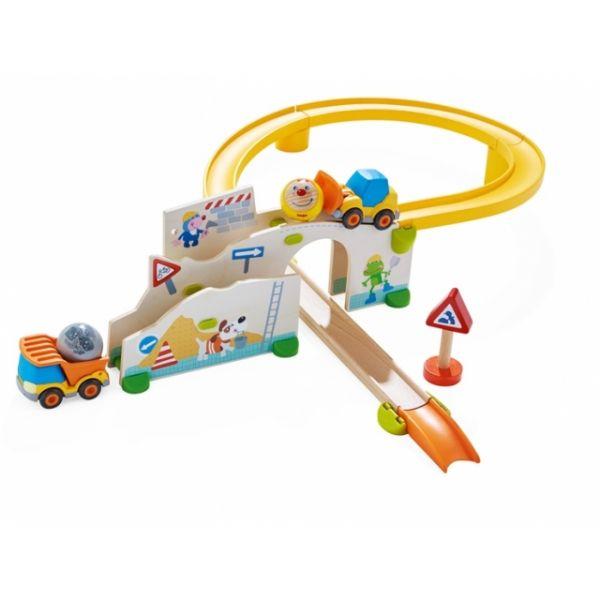 HABA Kullerbü Spielbahn Auf der Baustelle 303081