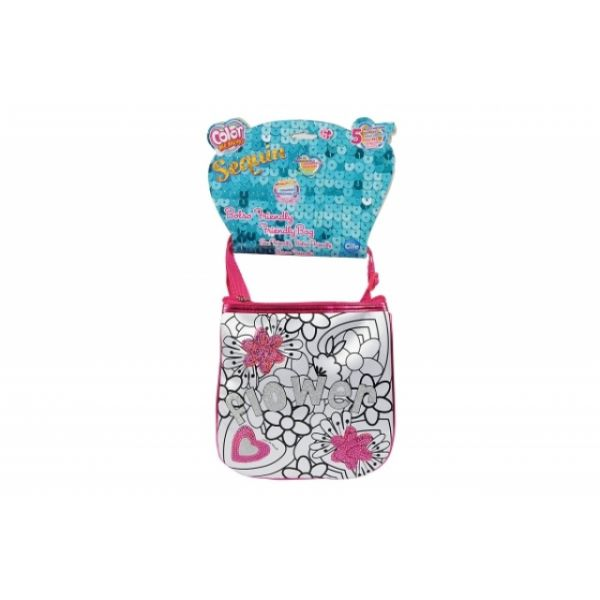 Color Me Mine Sequin Pretty Bag