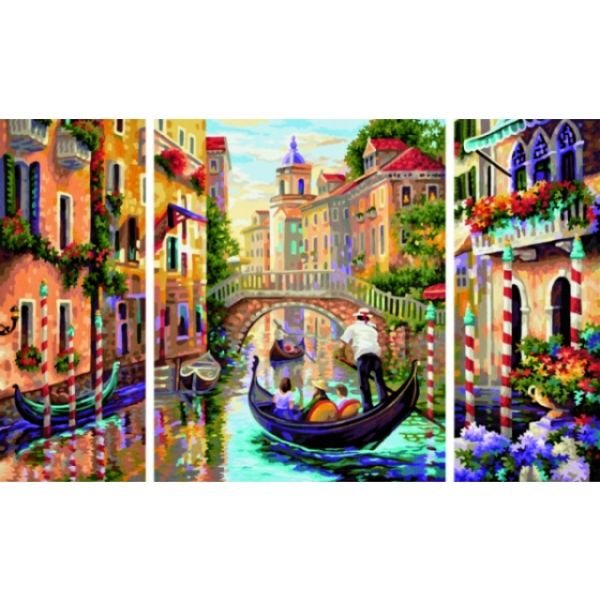 Schipper Venedig Triptychon