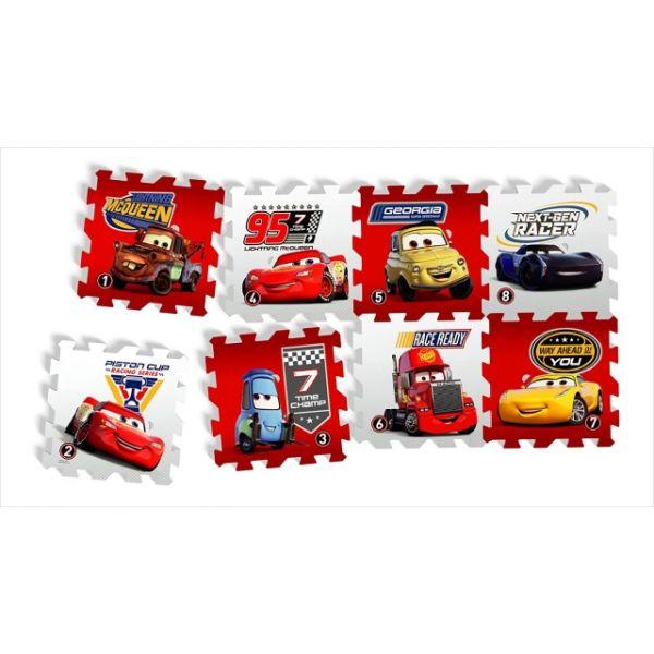 Puzzlematten Cars Race of a lifetime 8 Matten