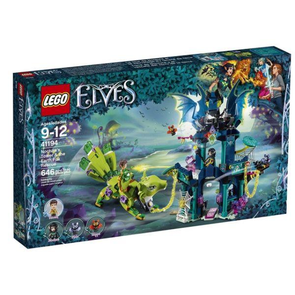 LEGO® Elves Nocturas Turm und die Rettung des Erdfuchses 41194