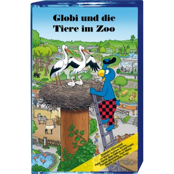 Globi Kassette und die Tiere im Zoo