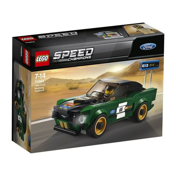 LEGO®Speed Champions 1968 Ford Mustang Fastback 75884