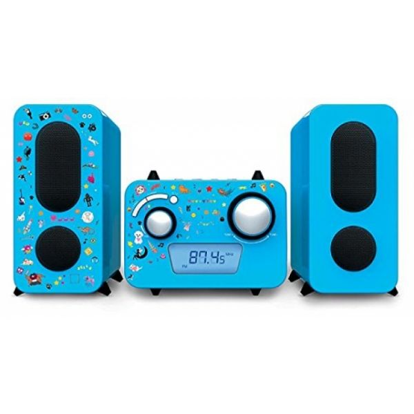 Stereoanlage CD / Radio blau