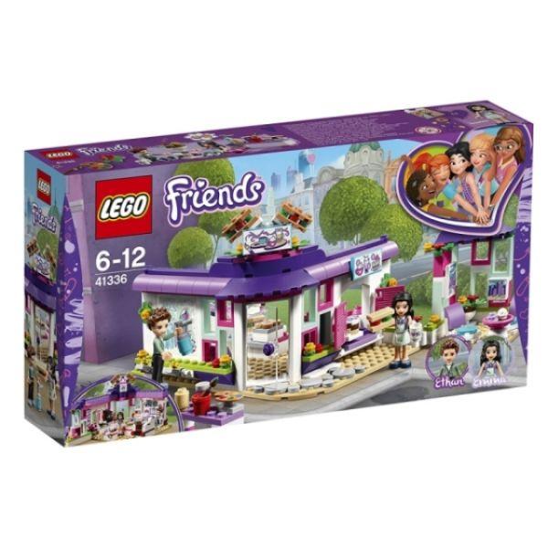 LEGO® Friends Emmas Künstlercafé 41336
