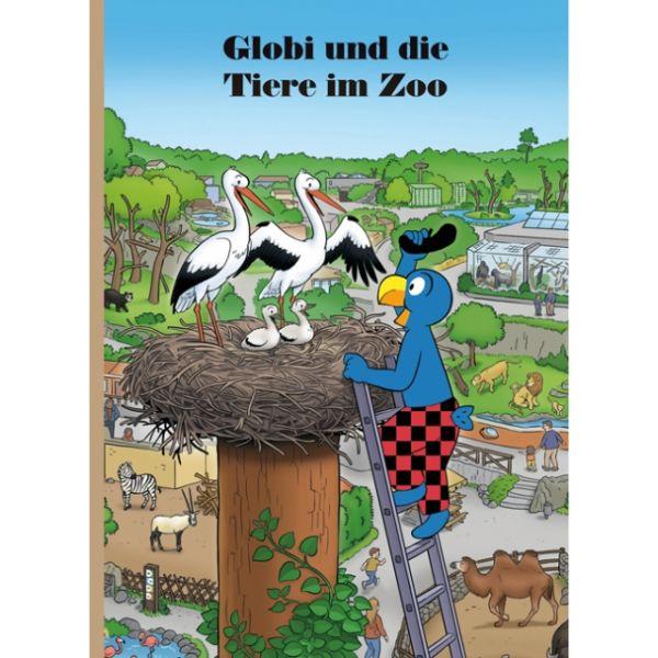 Globi Buch und die Tiere im Zoo Nr.88