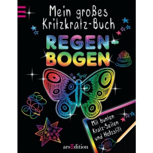 Mein grosses Kritzkratz - Buch Regenbogen
