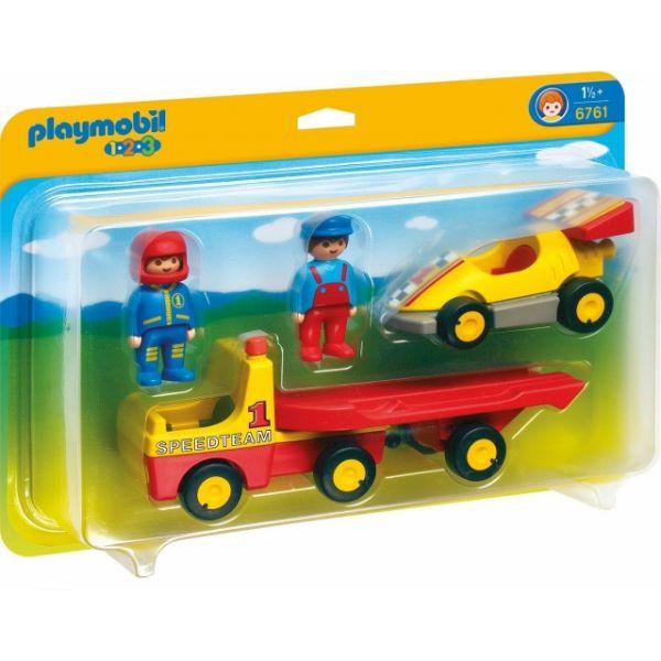 6761 Playmobil 1 2 3 Speedteam