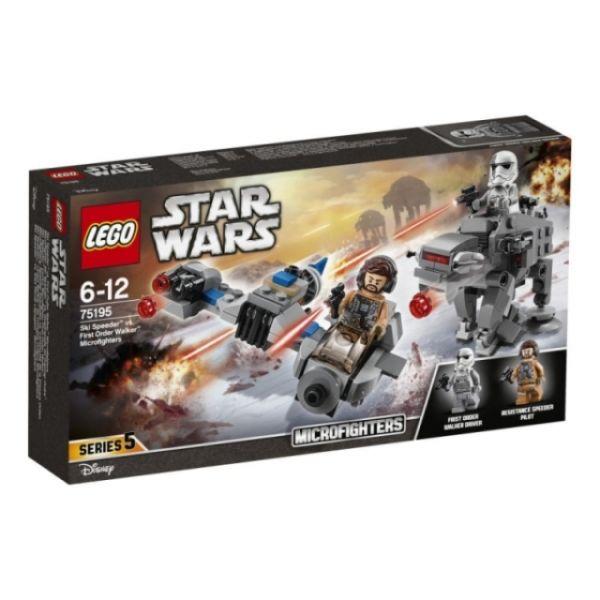 LEGO® Star Wars Ski Speeder vs. First Order Walker Microfighters