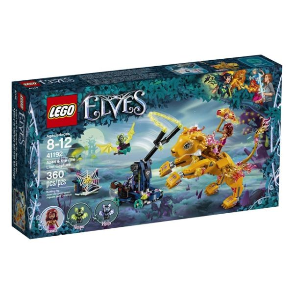 LEGO Elves Azari und die Falle für den Feuerdrachen 41192