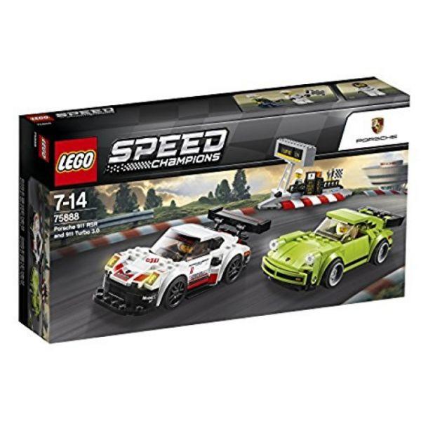 LEGO Speed Champion Porsche 911 RSR und 911 Turbo 3.0 75888