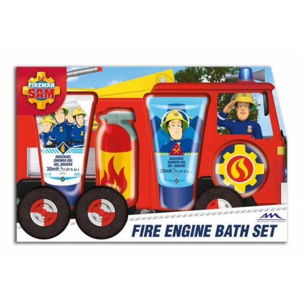 Feuerwehrmann Sam Geschenkset Duschgel, Bad