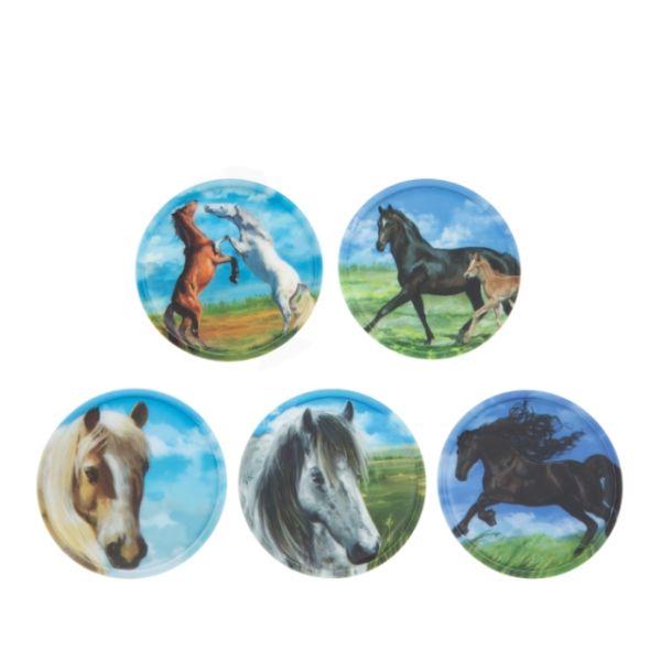 Klettie - Set Pferde 5-teilig