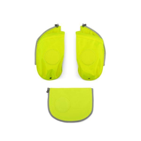 Ergobag Cubo Sicherheitsset mit Flaschenhalter gelb
