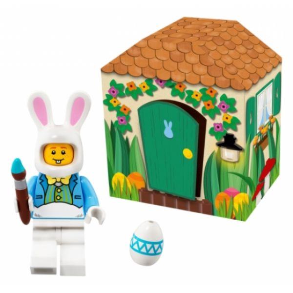 LEGO Osterhasenhütte