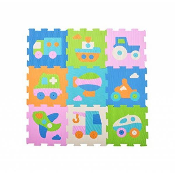 Puzzlematten Fahrzeuge 9 Matten 71 - teilig